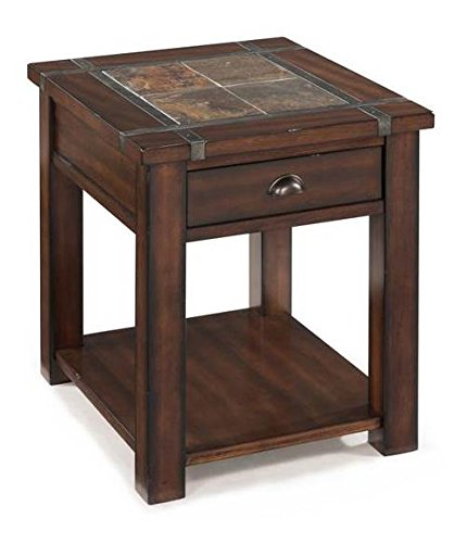 - Magnussen T2615 Roanoke Rectangular End Table