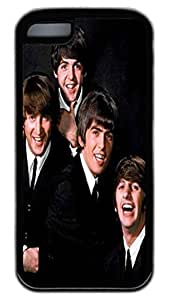 iPhone 5C Cases VUTTOO The Beatles Color The Beatles TPU Rubber Soft Case Back Cover for iPhone 5C ¡§C Black