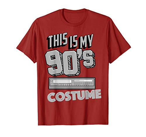 This Is My 90's Costume Shirt | Funny Halloween Music -