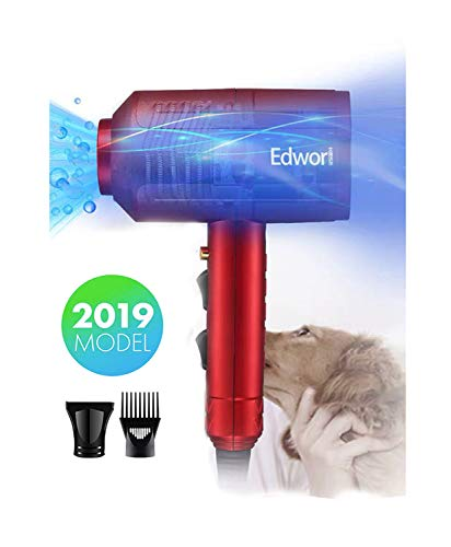 Edwor Dog Cat Hair Dryer,Professinal Double Force Gooming Blower Dryer for Medium/Small Pets,IEC...
