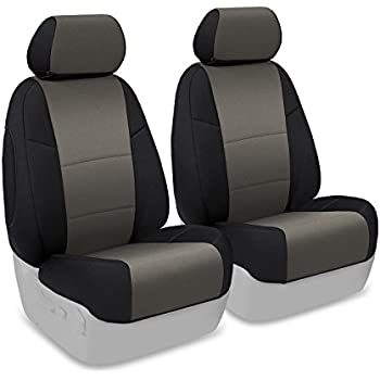 Coverking Custom Fit Front 50/50 Bucket Seat Cover For Select Honda  Ridgeline Models
