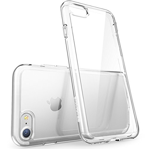 (i-Blason Halo Series Case Designed for iPhone 7 /iPhone 8, [Scratch Resistant] Clear for iPhone 7/iPhone 8 Cover (Clear))