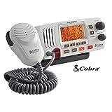 Cobra Electronics MR F57W VHF Radio with Large LCD Display