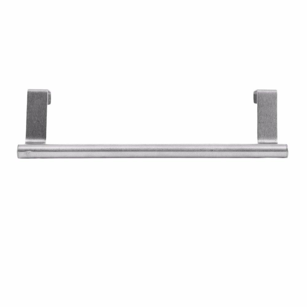 LOVELY Kitchen Towel Holder Bathroom Badkamer Accesoires Porta Toalha para Banheiro Women Towel Hanger Rack Stainless Steel