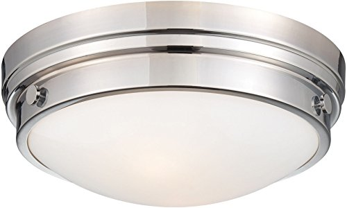 Minka Lavery Flush Mount Ceiling Light Round 823-77 2LT 120 watt (5