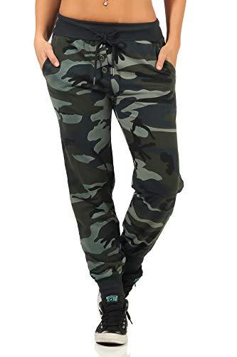 Danaest Dames sportbroek camouflage (499)