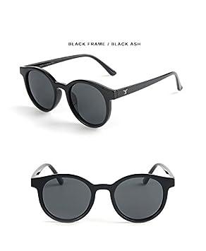 Ruiyue Kind-Sonnenbrille, Art- und Weisetransparenter runder Rahmen Cat Eye polarisierte Sonnenbrille-Schutzbrillen UV400-Spiegel für Jungen-Mädchen scherzt Baby (Farbe : Pink)