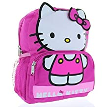 Small Backpack - Hello Kitty - Pink Face School Bag New 054785