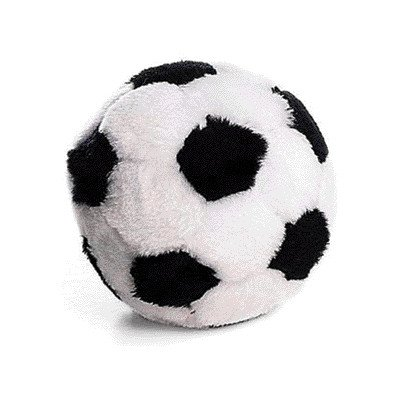 Plush Soccerball Dog Toy