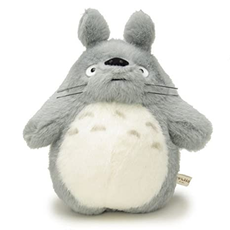 My Neighbor Totoro Stuffed Big Totoro light gray size M /Studio Ghibli