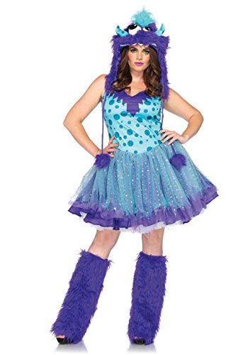 Polka Dotty Adult Costumes (2PC. Ladies Polka Dotty Dress (3XL/4XL))