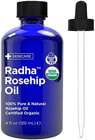 Facial Treatments: Radha Beauty Rosehip Oil