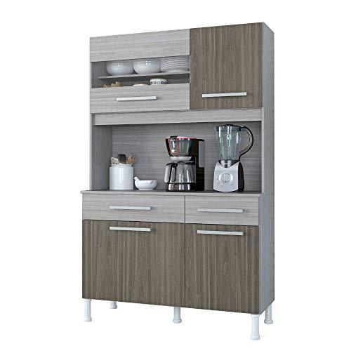 Cozinha Compacta Atualle Anapolis 4330R Malbec Acetinado SE