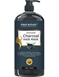 Activated Charcoal Hair Mask, 9 fl. oz. Restorative...