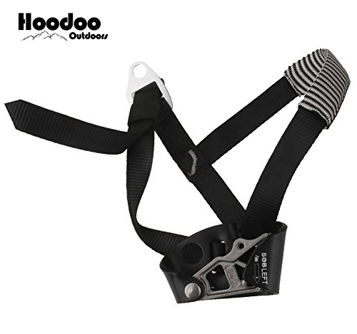 Hoodoo Outdoors Foot Climbing Ascender Rock Climbing Mountaineering Equipment Climbing Device Hiking Camping
