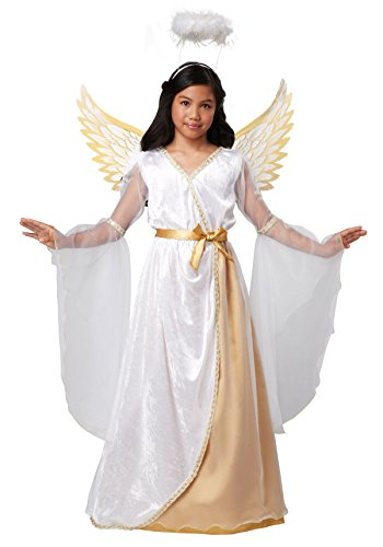 Guardian Angel Child Costumes (California Costumes Guardian Angel Child Costume, Medium)
