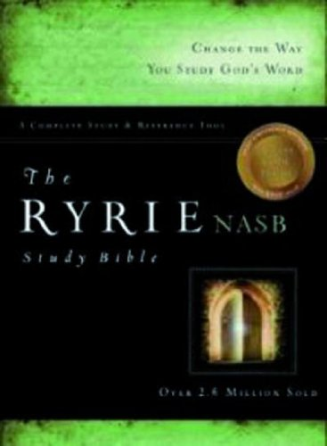The Ryrie NAS Study Bible Bonded Leather Burgundy Red Letter Indexed (Ryrie Study Bibles 2012) pdf epub