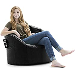 Big Joe 638602 Milano Bean Bag Chair, Stretch Limo Black