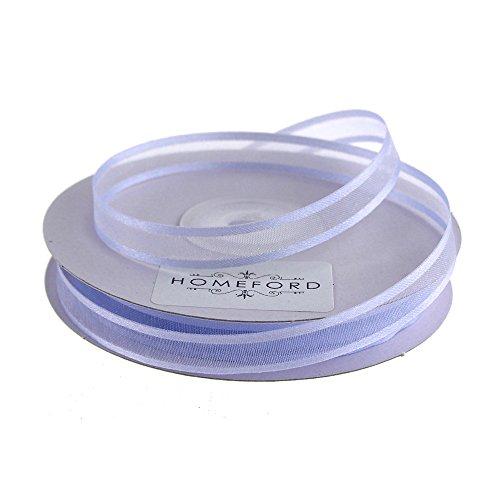 Homeford FCR000SES0308447 Satin-Edge Sheer Organza Ribbon, 3/8