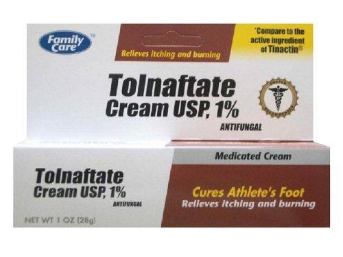 [6 Pack] Crème Antifongique Tolnaftate USP 1% Comparer Tinactin