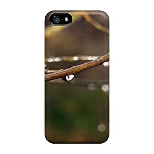 Hot Tpye Dew On The Branches Case Cover For Iphone 5/5s
