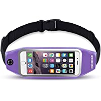 uFashion3C Running Belt Waist Pack for Phone and Keys -...