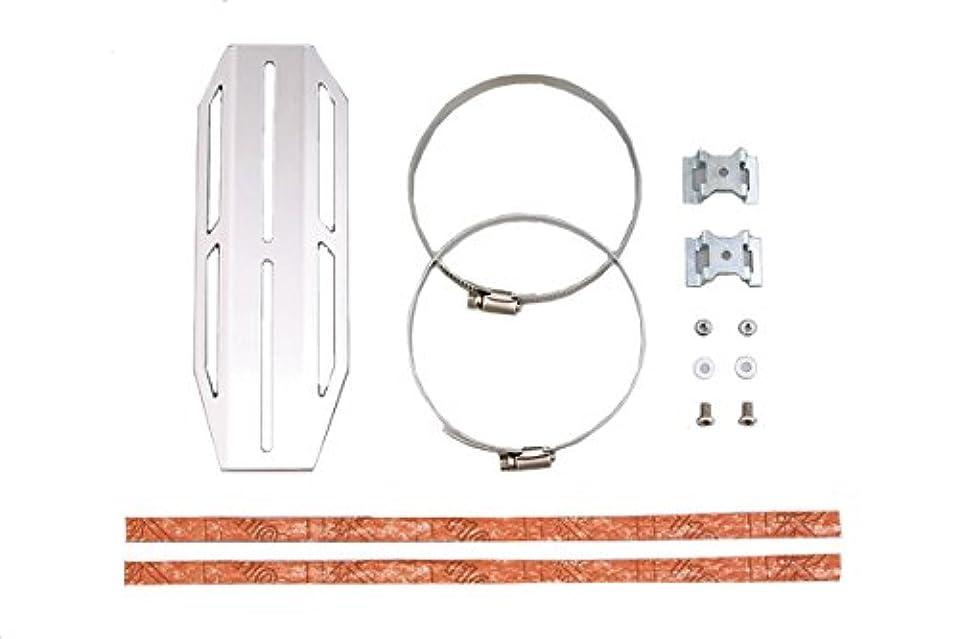 土自動化七時半キタコ(KITACO) アルミエンドキャップセット φ40 汎用 540-1083801