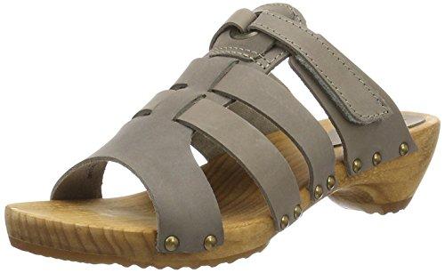 Sanita Oline Sandal - Mules Mujer Gris