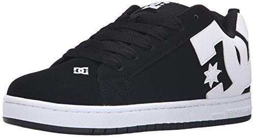 DC Shoes Men's Court Graffik Shoes Black 10