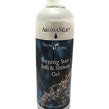 AromaSilk Morning Start Bath Shower Gel 8 fl. oz. 236mL by Young Living Essential Oils