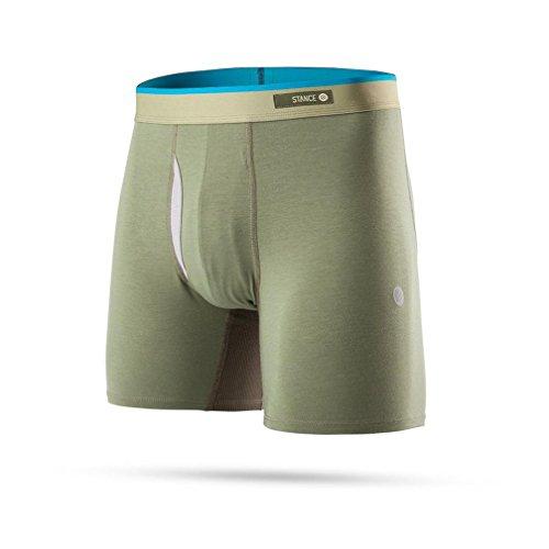 Stance Men's Staple Underwear Olive Boxer Briefs SM from Stance