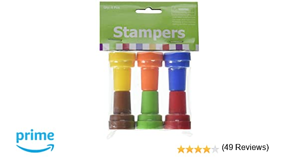 Amazon.com: Fun Express Owl Stampers Party Favor Stamps - 24 ...