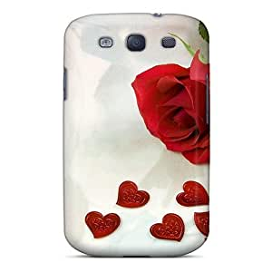 Slim Fit Tpu Protector Shock Absorbent Bumper Love Wide Case For Galaxy S3