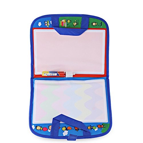 Tango Doodle Travel Doodle Mat 18.1″X11.4″inches drawing toys Magic Water Drawing Mats magic pen Educational toys for children toddlers kids