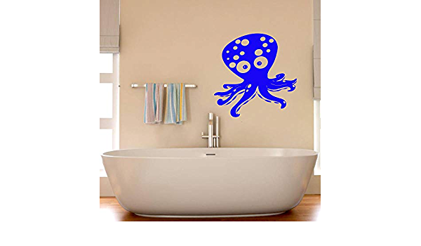 Octopus wall decal Octopus stickers for decor Fish Water Ocean Tentacles Decor in the bathroom Wall decals Window Decal Handmade 2068