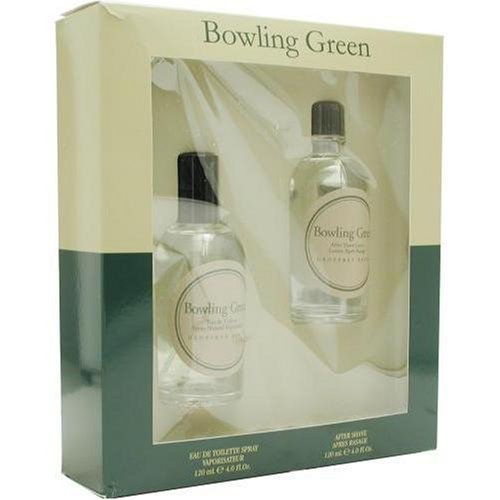 Bowling Green By Geoffrey Beene For Men. Set-edt Spray 4 oz & Aftershave 4 oz by Geoffrey Beene