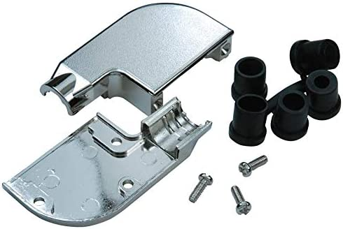 Zinc Alloy Body, Pack of 5 D Sub Backshell SPC15128 90/° DA