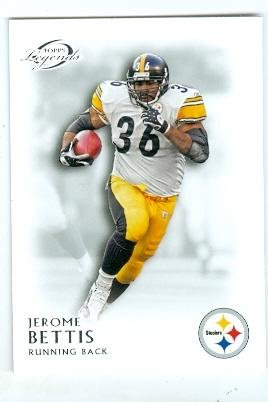 2011 Pittsburgh Steelers Super Bowl - Jerome Bettis football card (Pittsburgh Steelers Super Bowl Champion) 2011 Topps Legends #141