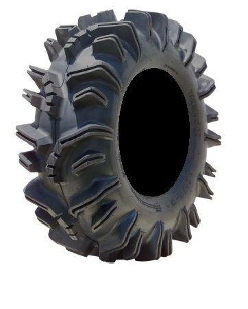 Bundle - 9 Items: STI HD3 14'' Wheels Black 29.5'' Terminator Tires [4x156 Bolt Pattern 3/8x24 Lug Kit] by Powersports Bundle (Image #2)