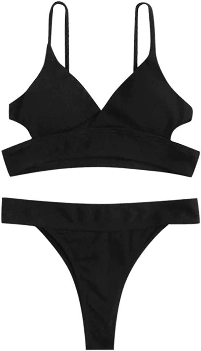 Costumi da Bagno Halter Mare Donne Costume Costumi da Bagno Push Up Piscina Sportivi Bikini Donna Beachwear Due Pezzi YanHoo Donne Costumi da Bagno