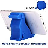 """Plinrise Mini Puppy Dog Shape Cute Phone Mounts Candy Color Material Of Silica Gel Size 2.7"""" x 1.3"""" x 2.5"""", For Iphone Samsung ( Navy Blue)"""