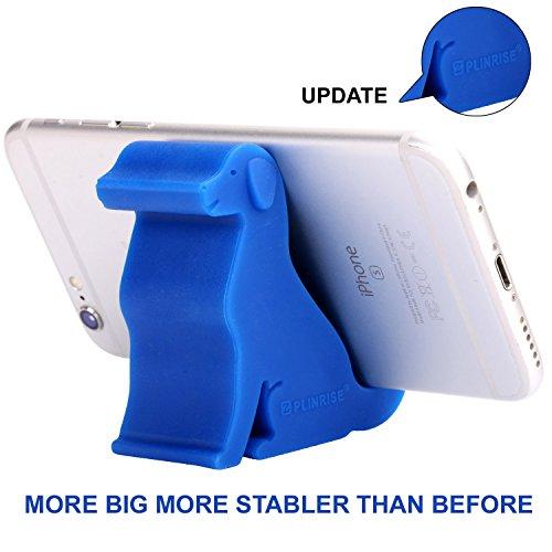 Z PLINRISE Puppy Desk Phone Stand Dog Shape Smartphone Holder For Free You Hands (Navy Blue)