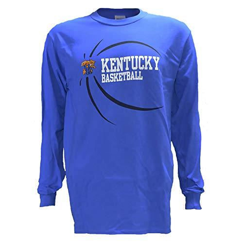 University of Kentucky UK Ball on Blue Long Sleeve