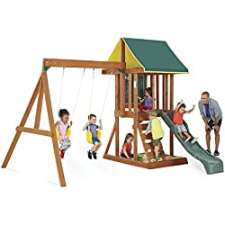 Big Backyard Appleton Wooden Swing Set by KidKraft