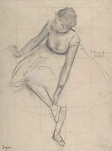 Edgar Degas Dancer Adjusting Her Slipper Metropolitan Museum of Art 30
