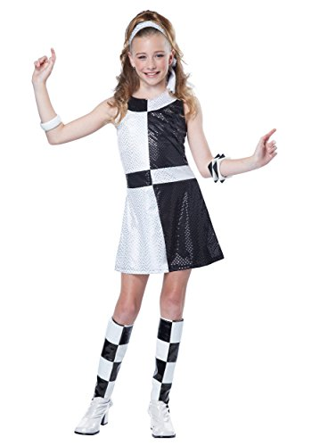 California Costumes 60's Mod Chic Tween Costume, X-Large