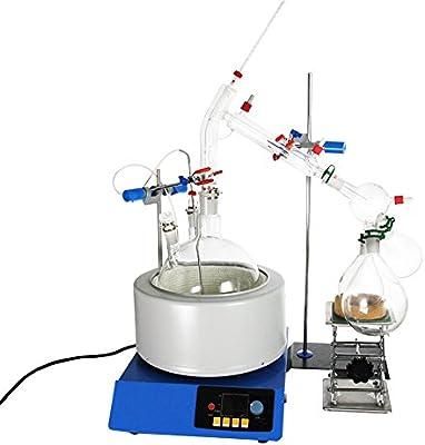 Purificador de aceite esencial de laboratorio de 5000 ml ...