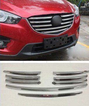 Mazda CX 5 A Partir de 2015 listones de cromo para barbacoa 8 piezas Tuning accesorios