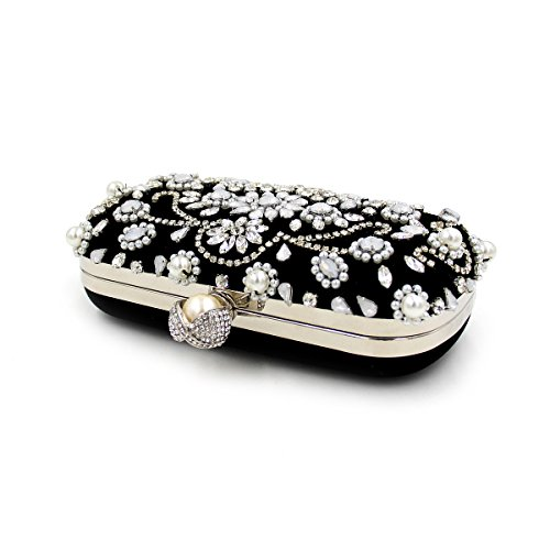 WYB Europa Schwere Perlen Abendtasche / Kupplung Diamant / hochwertigen Perlen Abendtasche / Kleidbeutel