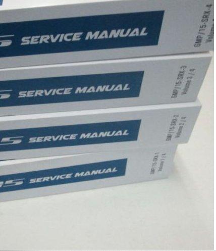 2017 Chevy Chevrolet CITY EXPRESS Service Shop Workshop Repair Manual Set NEW